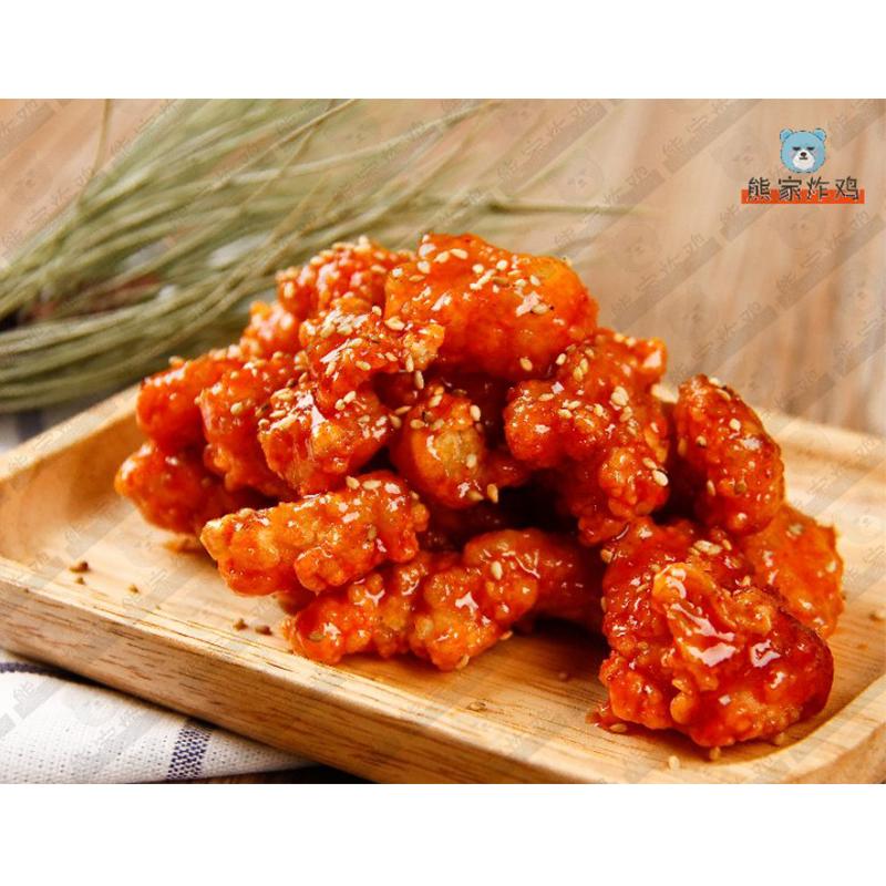 韩式鸡米花