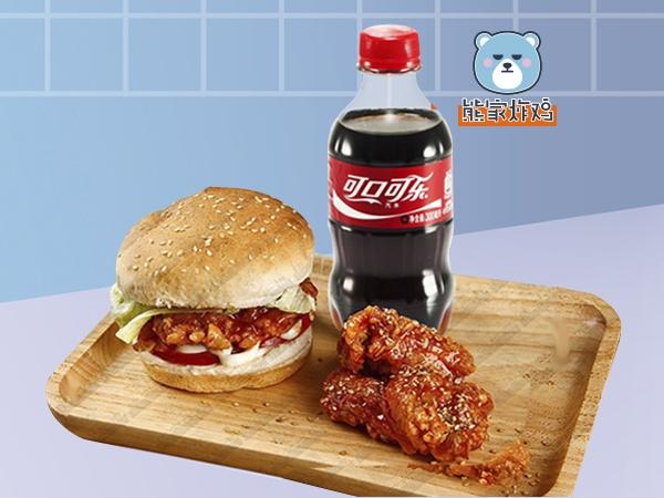 汉堡mini—可口可乐