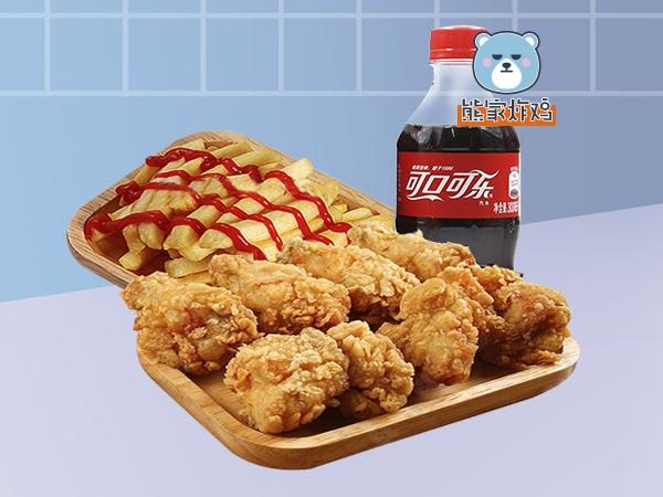 中式炸鸡粗薯套餐