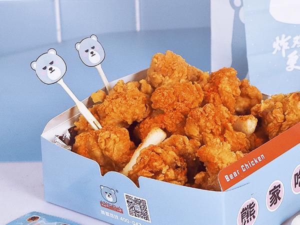 中式秘辣炸鸡套餐 大份