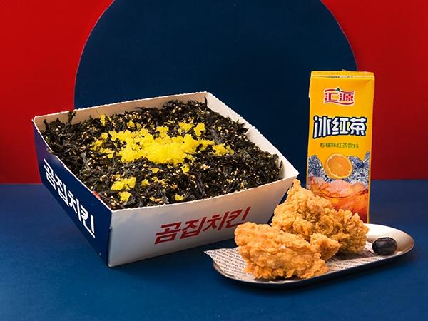 海苔饭炸鸡套餐
